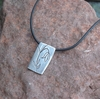 Remembrance Pewter Necklace