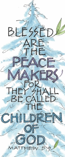 Peacemakers Bookmark