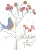 Songbird Greeting Card, with message