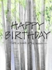 Walk in the Woods Birthday Greeting Card