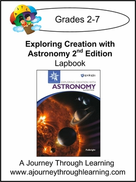 Apologia Exploring Creation with Astronomy (2nd Edition) Lapbook
