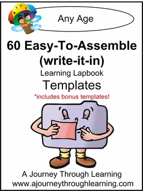 60 Easy To Assemble Lapbook Templates-8.00