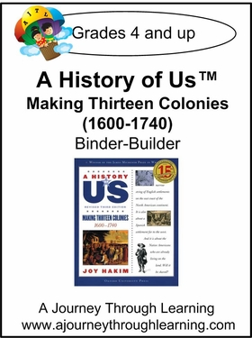 A History of Us Book 2- Making Thirteen Colonies Binder-Builder-16.00