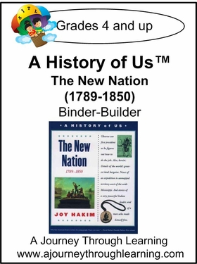 A History of Us Book 4- The New Nation Binder-Builder Lapook-16.00
