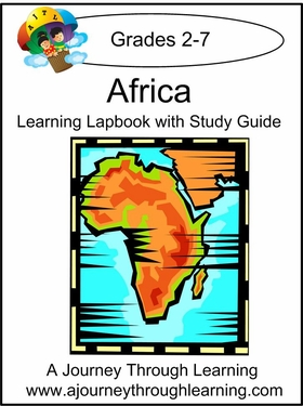 Africa Lapbook with Study Guide--8.00
