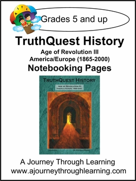 Age of Revolution lll Notebooking Pages
