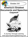 America's Greatest Documents and Speeches Print Style 1-4.50