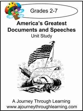 America's Greatest Documents and Speeches Unit Study --4.50