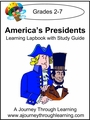 America's Presidents Lapbook -8.00