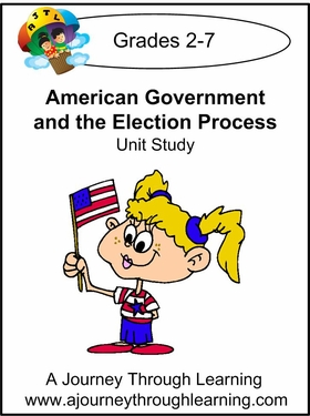 American Government and the Election Process Unit Study-4.50