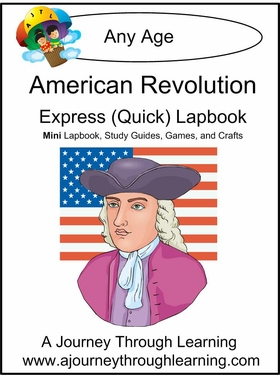 American Revolution Express (Quick) Lapbook