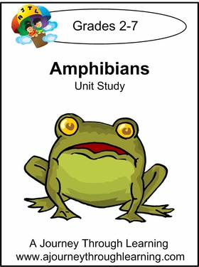 Amphibians Unit Study with Study Guide--4.50