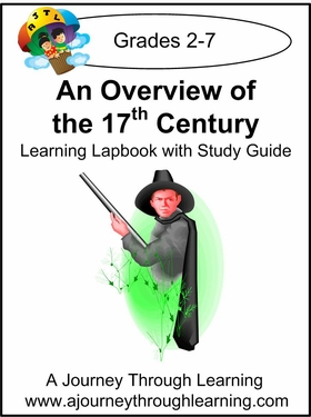 Overview of 17th Century Lapbook with Study Guide --8.00