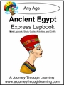 Ancient Egypt Express (Quick) Lapbook