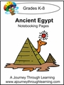 Ancient Egypt Notebooking Pages-4.50