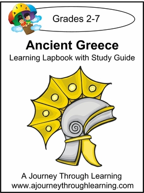 Ancient Greece Lapbook with Study Guide-8.00