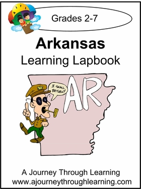 Arkansas State Study Lapbook-8.00
