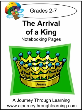 Arrival of a King Notebooking Pages-2.00