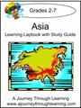 Asia Lapbook with Study Guide--8.00