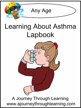 Asthma Lapbook with Study Guide-8.00