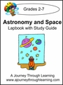 Astronomy and Space Lapbook with Study Guide-8.00