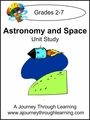 Astronomy and Space Unit Study with Study Guide--4.50