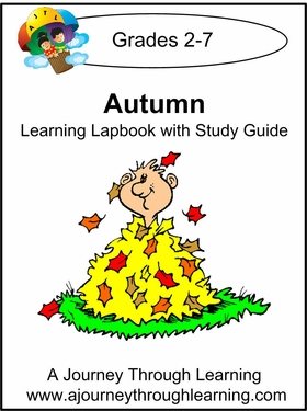 Autumn Lapbook with Study Guide