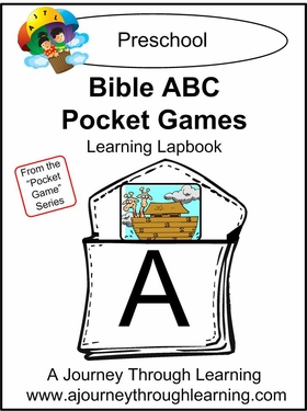 Bible ABC Pocket Games Lapbook-8.00