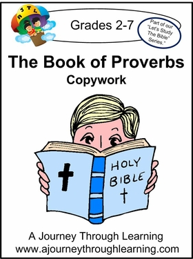 Book of Proverbs Print Style 2--4.50