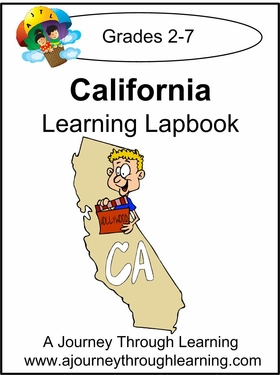 California State Study Lapbook-8.00
