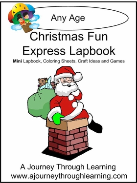 Christmas Fun Express (Quick) Lapbook