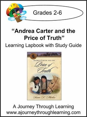 Circle C Adventures-Andrea Carter and the Price of Truth Lapbook (book  6)