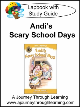 Circle C Beginnings- Andi's Scary School Days Lapbook (book 4)