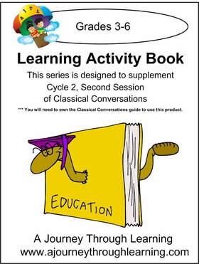 Classical Conversations Cycle 2 Learning Activity Book -Second Session Loose-leaf Printed
