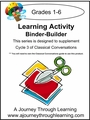 Classical Conversations Cycle 3 Learning Activity Binder-Builder Weeks 1-24
