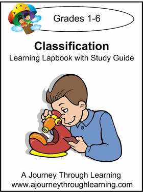Classification Lapbook with Study Guide for Foundations--8.00