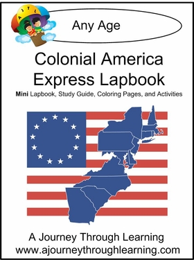 Colonial America Express (Quick) Lapbook