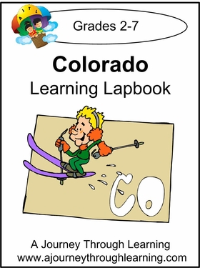 Colorado State Study Lapbook--8.00
