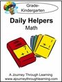 Daily Helpers Lapbook-Kindergarten Math-8.00