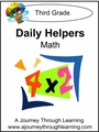 Daily Helper Lapbook- Grade 3 Math-8.00