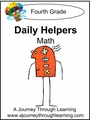 Daily Helper Lapbook-Grade 4 Math-8.00