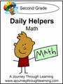 Daily Helpers Lapbook-Grade 2 Math-8.00