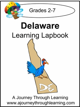 Delaware State Study Lapbook--8.00