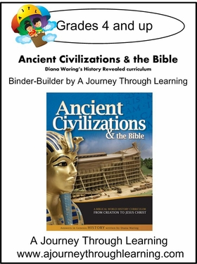 Diana Waring History Revealed- Ancient Civilizations & the Bible Binder Builder