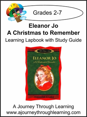 Eleanor Jo: A Christmas to Remember Lapbook-7.00