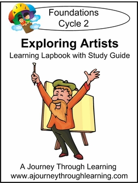 Exploring Artists for Foundations Cycle 2 Lapbook--8.00