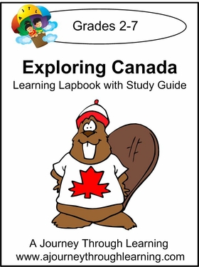 Exploring Canada Lapbook with Study Guide--8.00