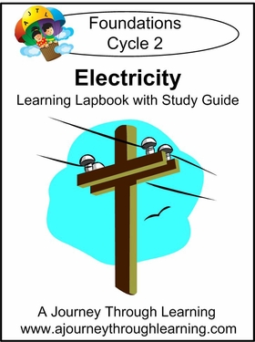 Exploring Electricity for Foundations Cycle 2 Lapbook-8.00