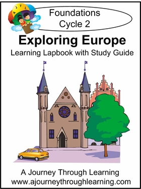 Exploring Europe for Foundations Cycle 2 Lapbook