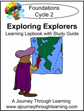 Exploring Explorers for Foundations Cycle 2 Lapbook-8.00